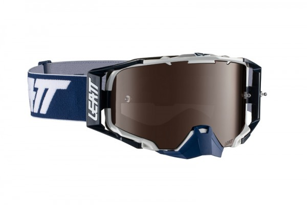 Leatt Goggle Velocity 6.5 Iriz Ink-White