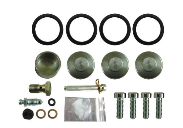 Moto-Master Reparatursatz für 4 Kolben Sattel