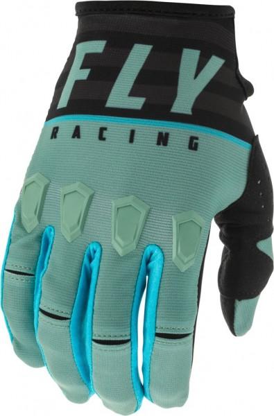 Fly Racing Kinetic K120 Kids Handschuh Sage Grün-Schwarz