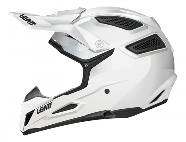 Leatt 5.5 Comp Solid Helm weiß