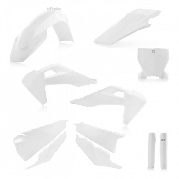 Plastik Full Kit Husqvarna MX Weiss