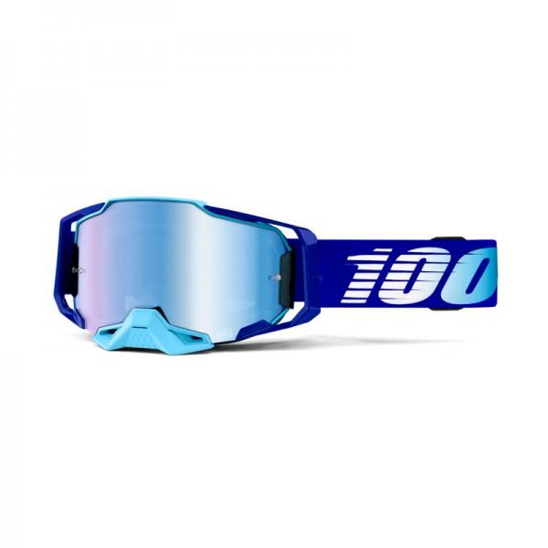 100% Goggle Armega Royal Mirror Blue