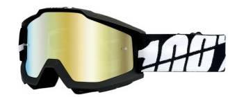 100% Goggle Accuri Black Tornado