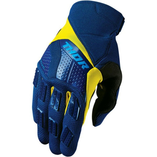 Thor Glove S7 Rebound Navy Yellow
