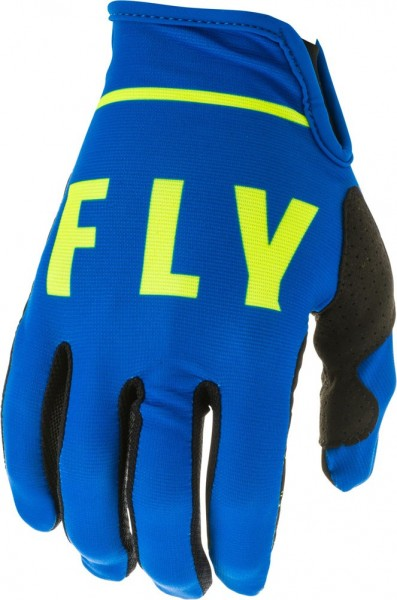Fly Racing Lite Glove Blue-Black-Yellow