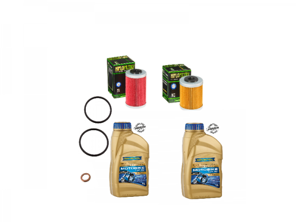 Ölfilter Kit Husqvarna 701 + Öl