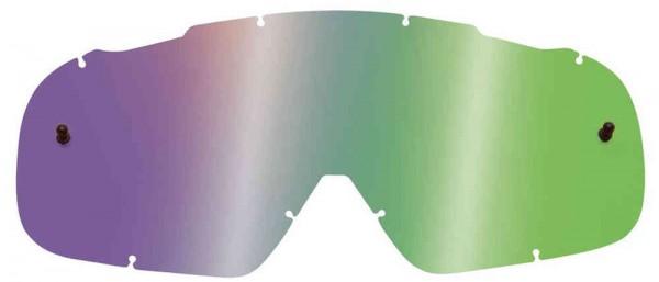 Fox Airspace/ Main II Lexan Lenses - Chrome Green