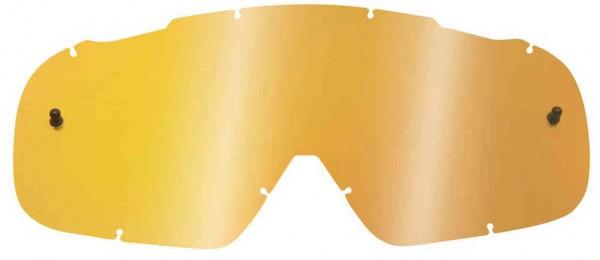 Fox Airspace/ Main II Lexan Lenses - Chrome Gold