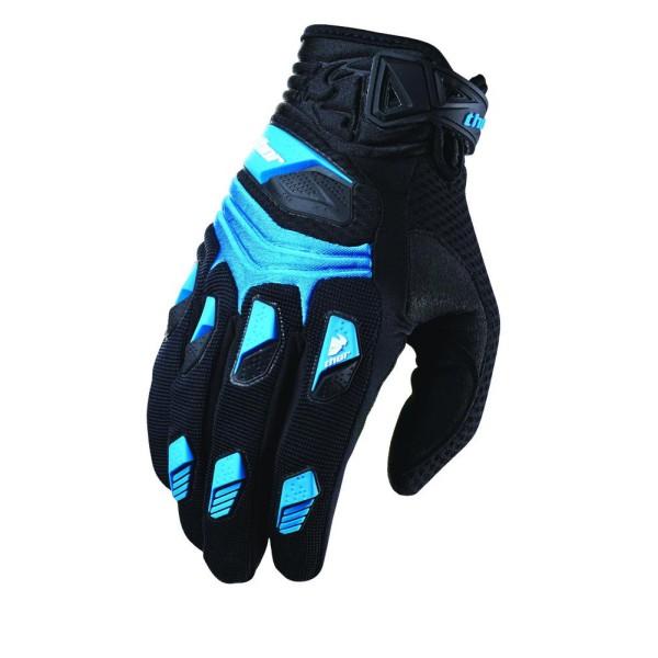 Handschuhe Thor Deflector Blau