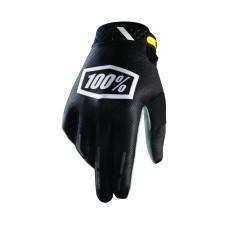 100% Gloves Ridefit Corpo Black