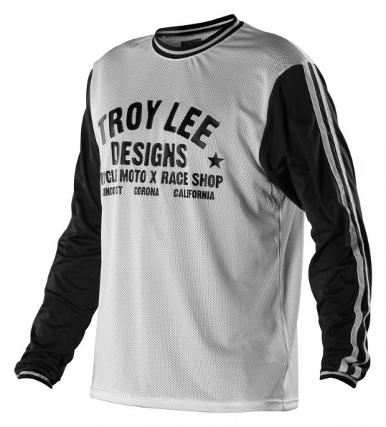 Troy Lee Designs Super retro Jersey Black-White