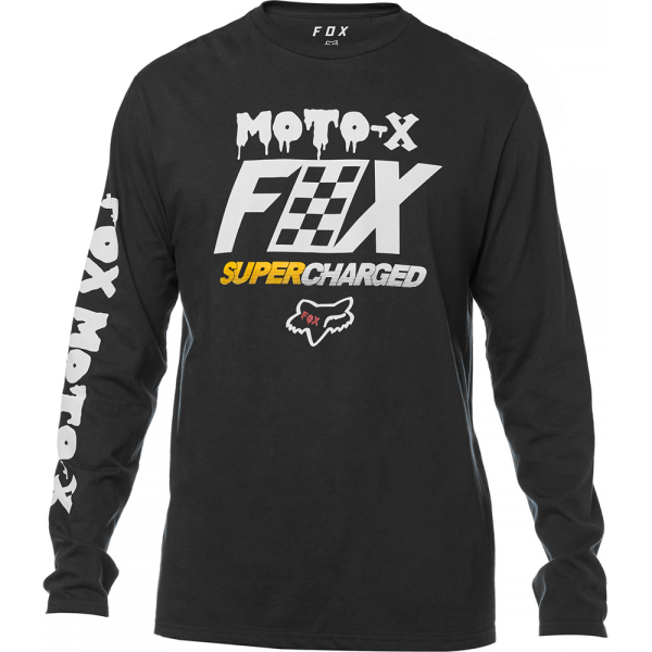 FOX Charged LS Tee Black