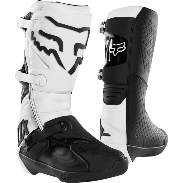 FOX Comp Boot White Black