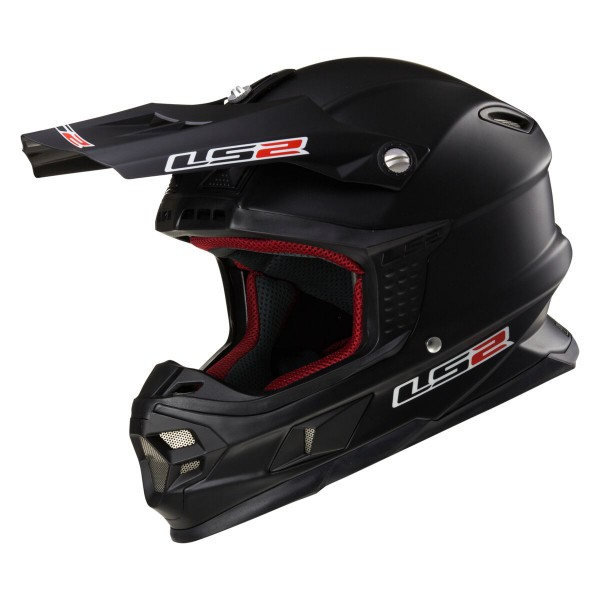 LS2 MX 456 HPFC Helm Single Mono Matt Black