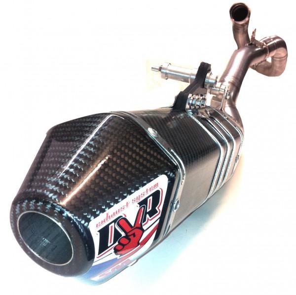DVR Exhaust Auspuffanlage Hexa Single MX / Supermoto