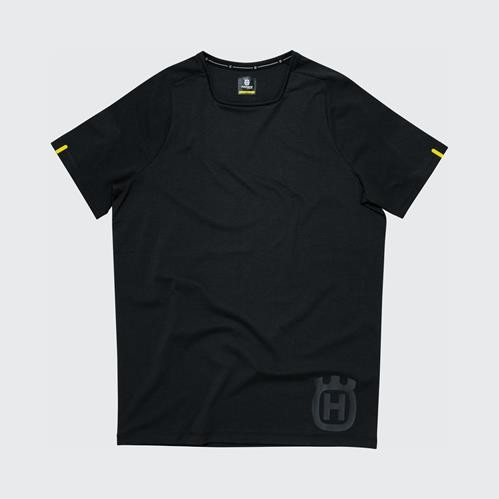 Husqvarna Progress Tee Black