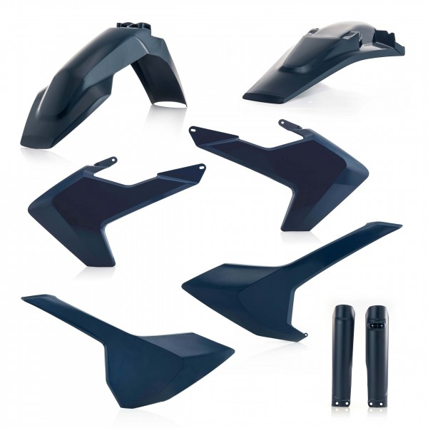 Plastik Full Kit Husqvarna Enduro Blau