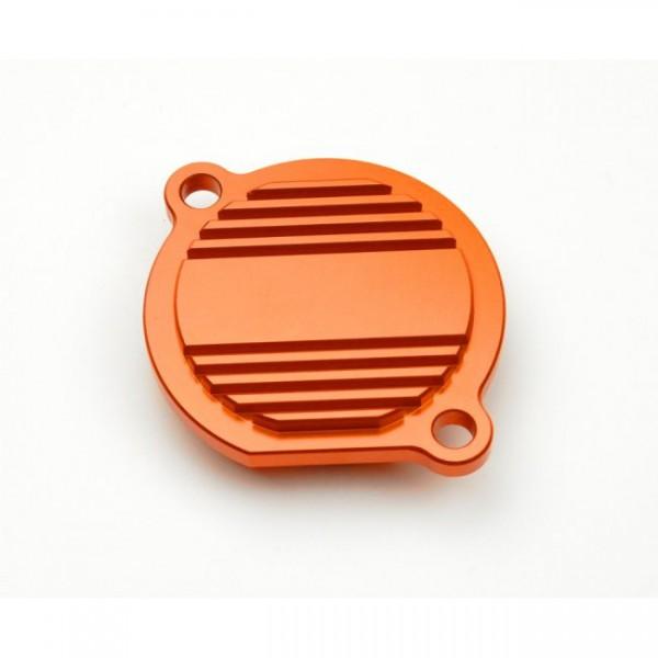 Ölfilterdeckel orange KTM SXS SXF EXC
