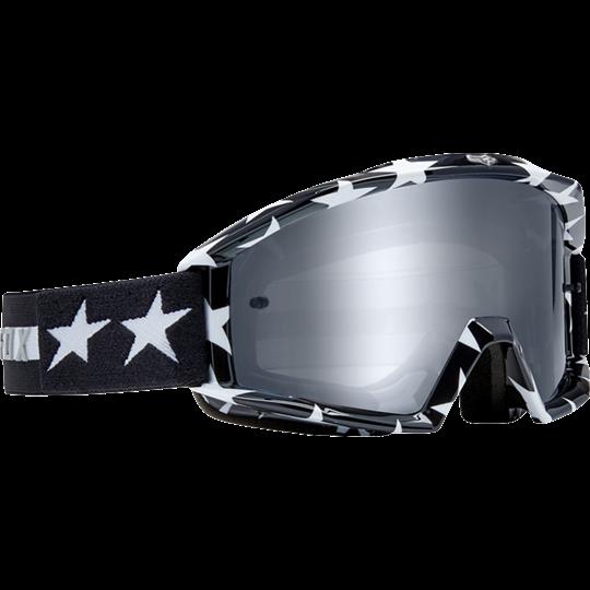 Fox Main Goggle Stripe Black White