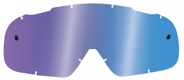 Fox Airspace/ Main II Lexan Lenses - Chrome Blue
