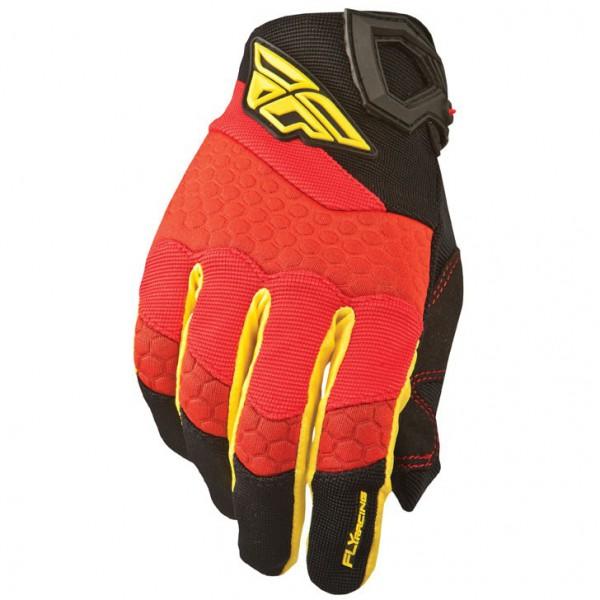 Handschuhe Fly Racing F16 rot-schwarz 2015