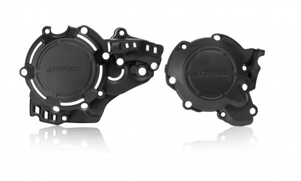 Husqvarna / KTM Kupplungs und Zündungsdeckelschutz X Power schwarz