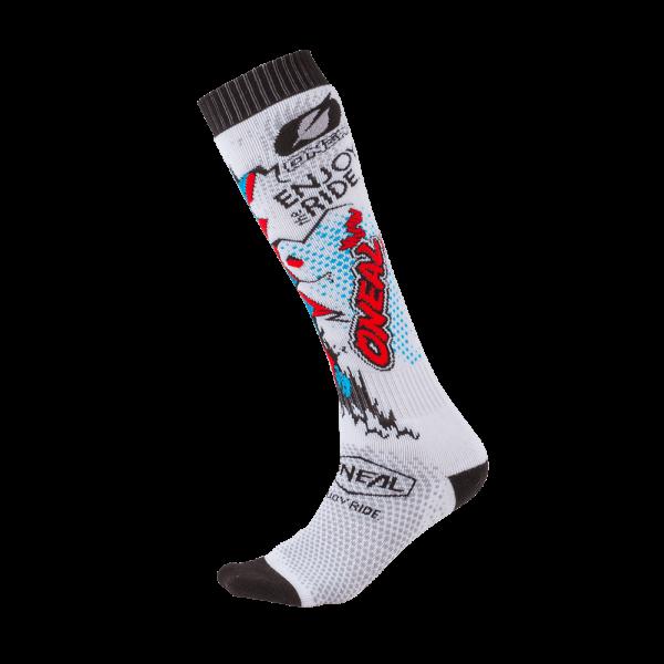 O`Neal PRO MX Sock VILLAIN white