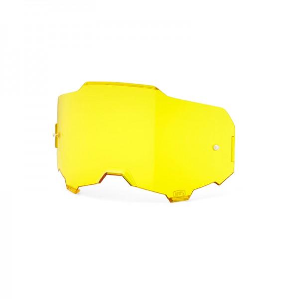 100% Ersatzvisier Armega Yellow