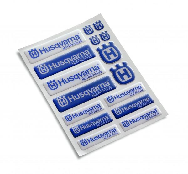 Husqvarna 3D Logo Sticker