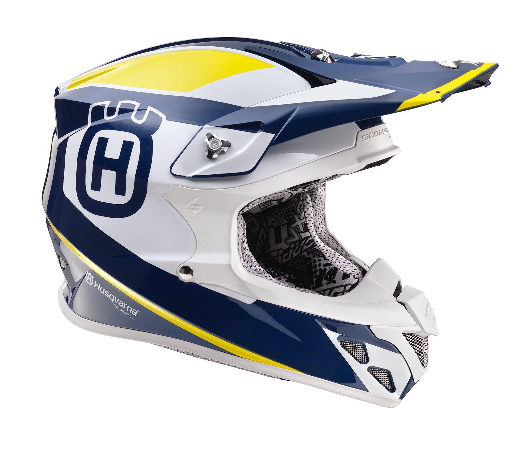 Husqvarna Gotland Helm Bergos Racing