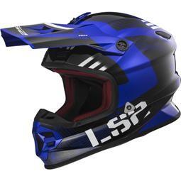 LS2 MX456 Light Rallie Blue Black