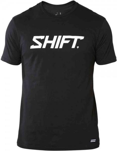 Shift Wordmark SS Tee Black
