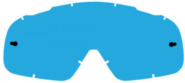 Fox Airspace/ Main II Lexan Lenses - Blue