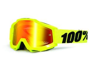 100% Goggle Accuri Fluo Yellow