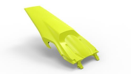 Husqvarna Kotflügel hinten fluo-gelb