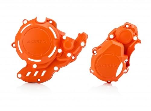 Husqvarna / KTM Kupplungs und Zündungsdeckelschutz X Power orange