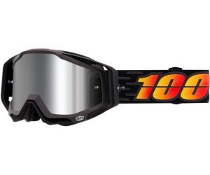 100% Goggle Racecraft + Costume Black