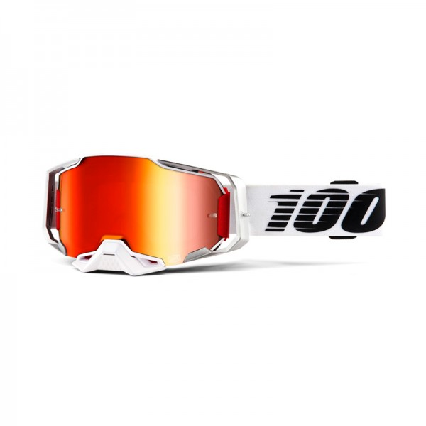 100% Goggle Armega Lightsaber Mirror Red