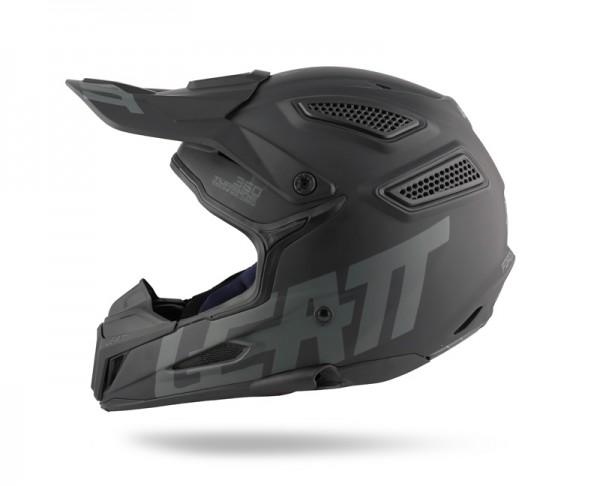 Leatt GPX 5.5 Ghost Satin Helm schwarz