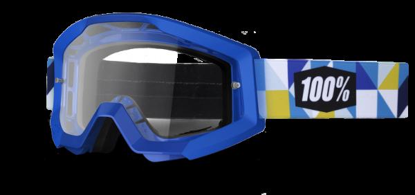 100% Goggle Strata Frisbee