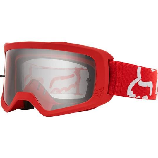 FOX Main II Race Goggle Red