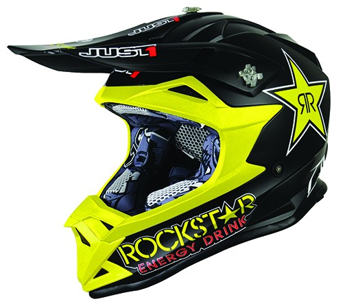 Just1 J32 Pro Rockstar Kinder Crosshelm