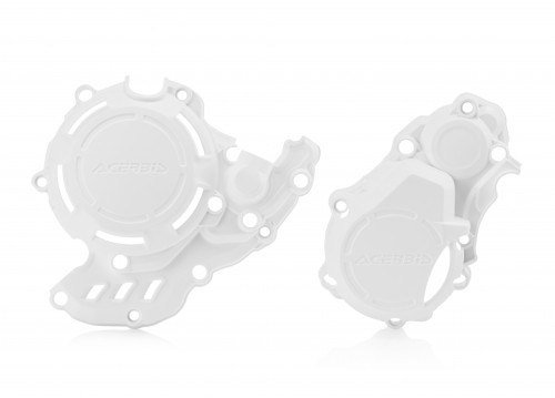 Husqvarna / KTM Kupplungs und Zündungsdeckelschutz X Power weiß