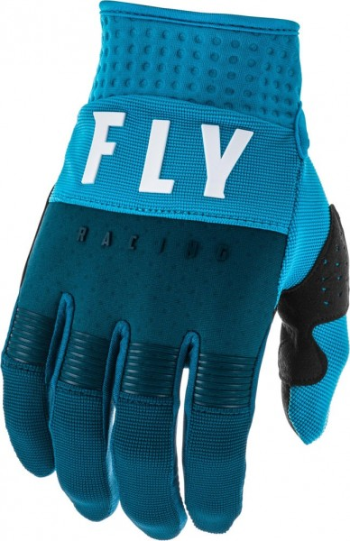 Fly Racing F-16Glove Navy-Blue-White