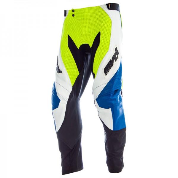 MVD Striker Supermoto Hose schwarz-gelb-blau
