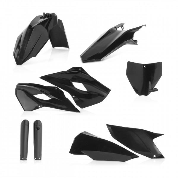 Plastik Full Kit Husqvarna Enduro Schwarz