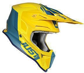 Just1 J18 Pulsar Helm Yellow-Blue