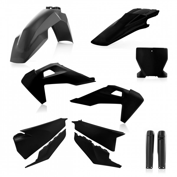 Plastik Full Kit Husqvarna MX Schwarz