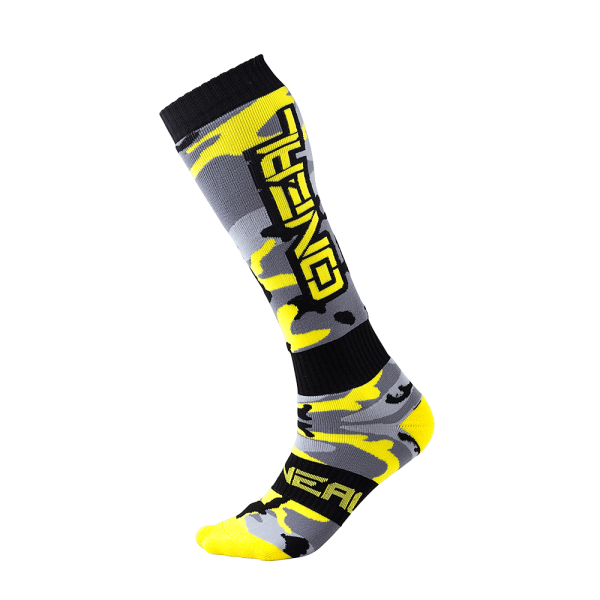 O`Neal PRO MX Sock HUNTER black/gray/neon yellow