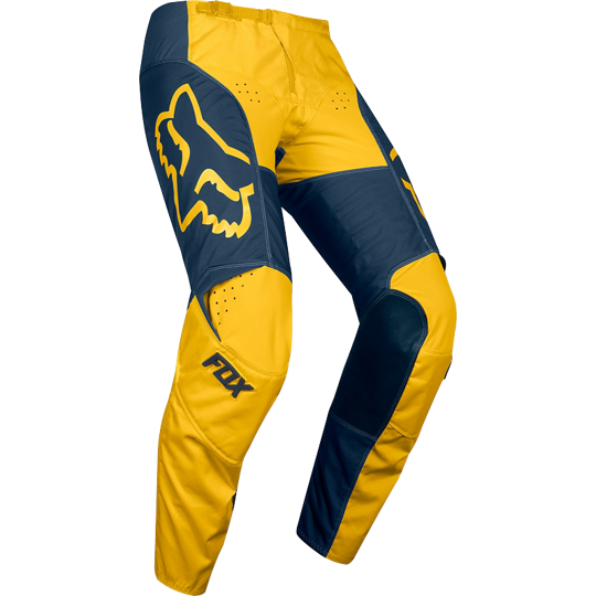 FOX 180 Przm Pant Navy Yellow